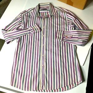 Dragonfly Men XXL Button Up Shirt 2 Button Cuff